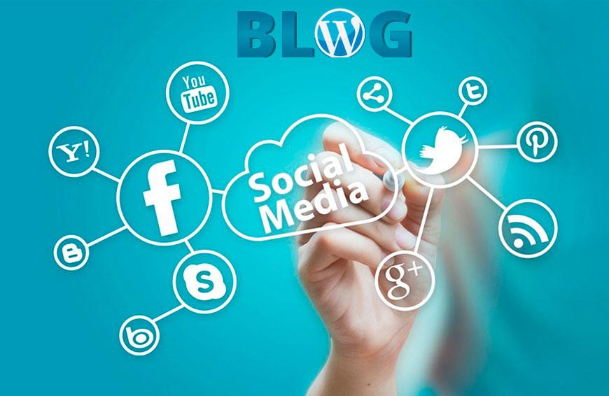 Creación blog y redes sociales